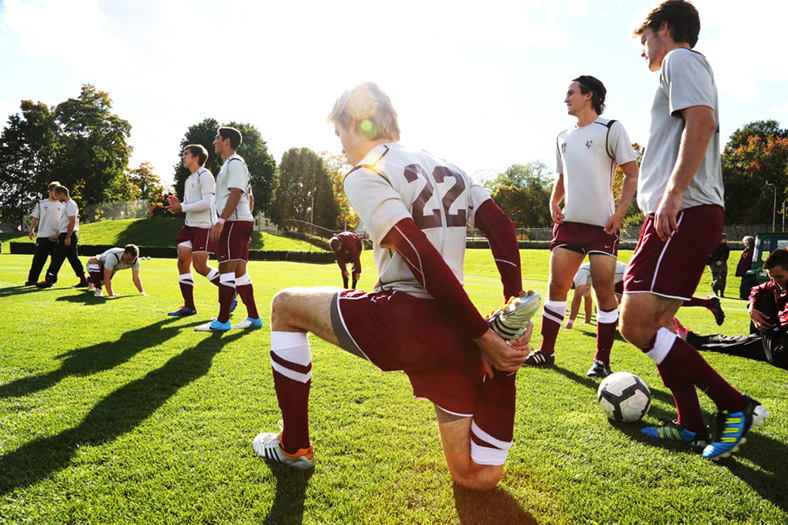 Men's Soccer Warm-up