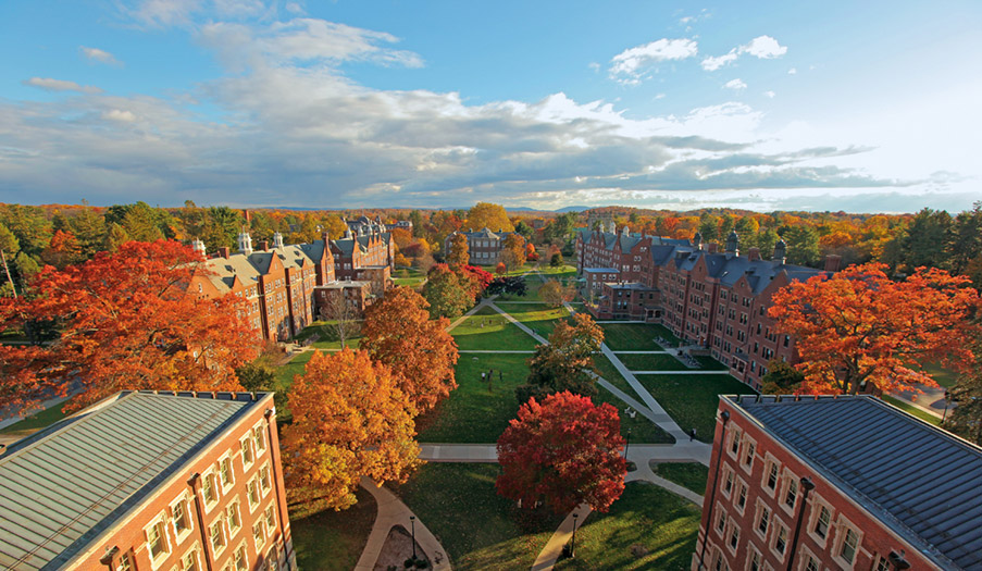 Quad in the Fall
