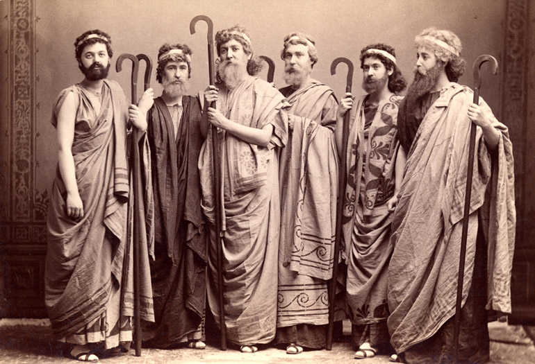 The All Female Cast of Antigone, 1893