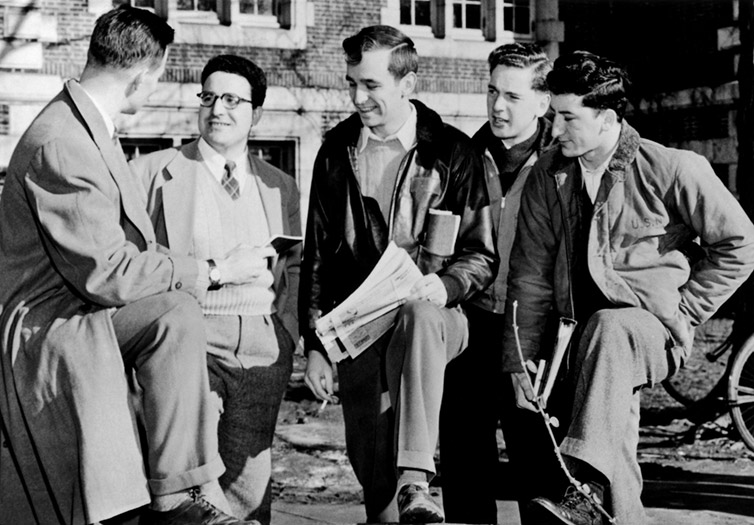 Vassar's First Male Students, WWII Veterans