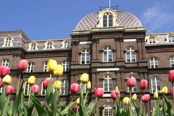Main Building in the Spring