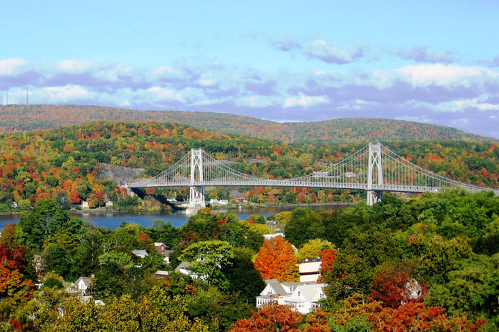 Mid-Hudson Bridge in Fall