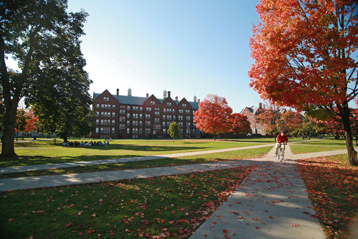 Residential Quad in Fall