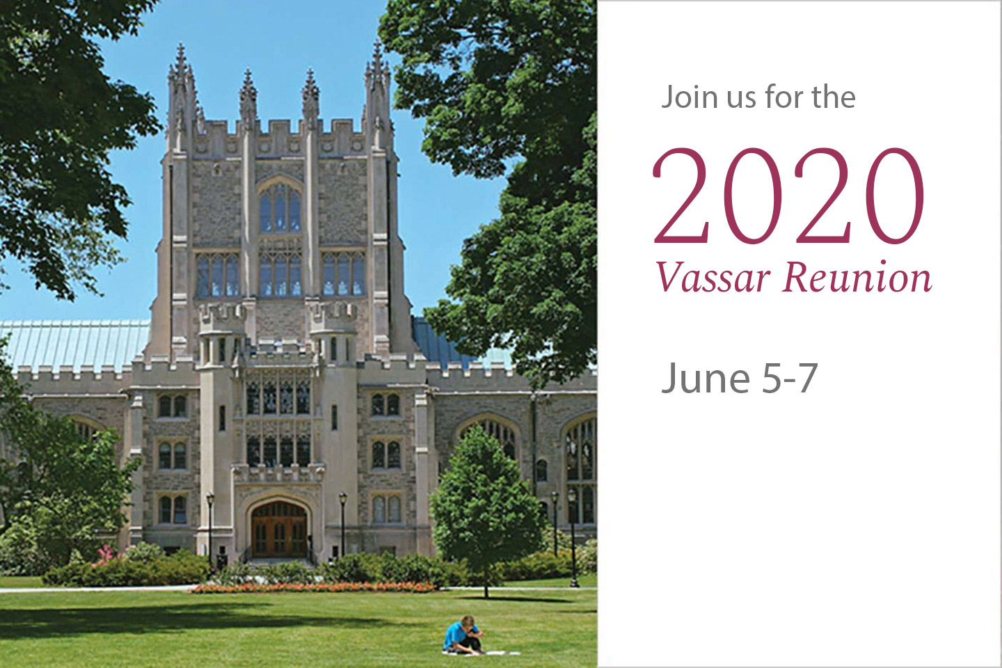 Join Us for the 2020 Reunion